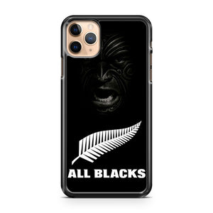 all blacks haka face iPhone 11 Pro Max Case Cover | CaseSupplyUSA