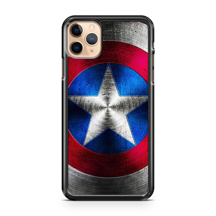 captain america shield 18 iPhone 11 Pro Max Case Cover | CaseSupplyUSA