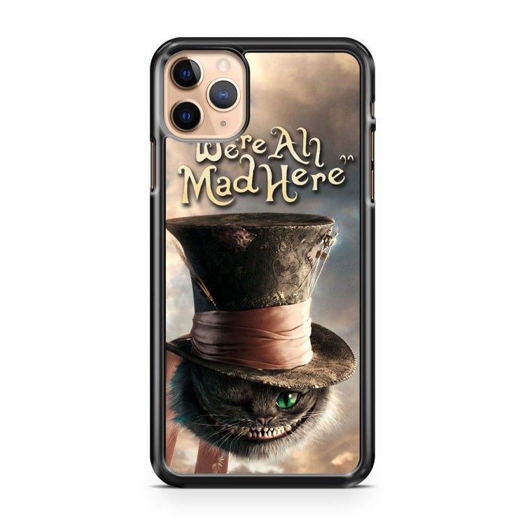 cat chesire hat iPhone 11 Pro Max Case Cover | CaseSupplyUSA