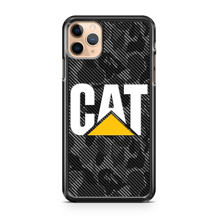 Caterpillar Logo BAPE Camo CarbonPRIB391 iPhone 11 Pro Max Case Cover | CaseSupplyUSA