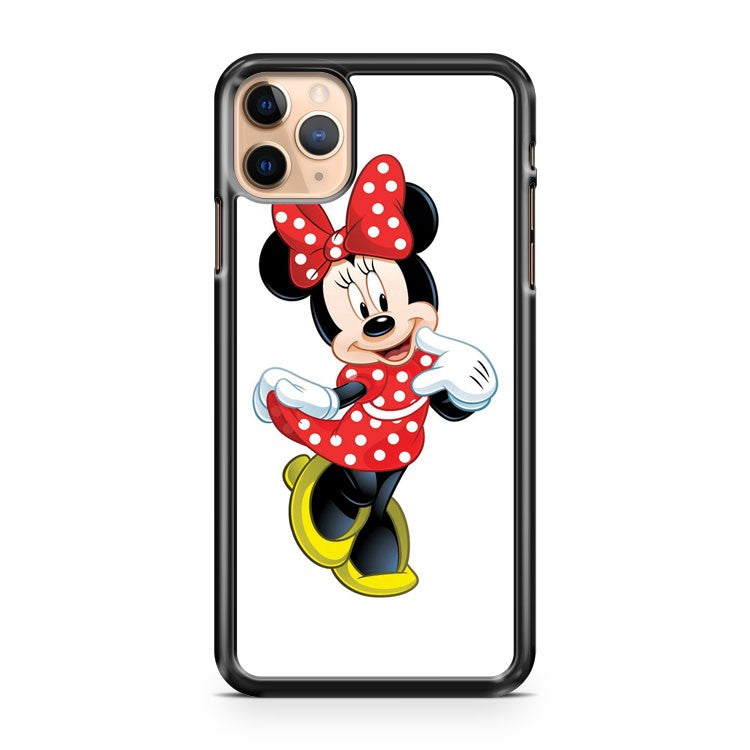 MINNIE MOUSE RED DRESS iPhone 11 Pro Max Case Cover