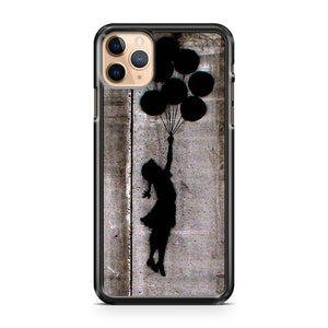 New Banksy Balloon Girl MUND900 iPhone 11 Pro Max Case Cover