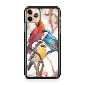 3 Birds Art iPhone 11 Pro Max Case Cover | CaseSupplyUSA