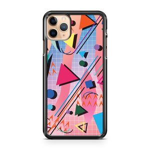80s pop retro pattern iPhone 11 Pro Max Case Cover | CaseSupplyUSA
