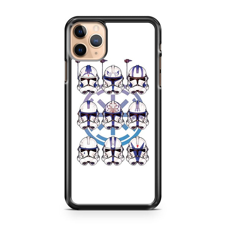 501st 9 pack Stormtrooper iPhone 11 Pro Max Case Cover | CaseSupplyUSA