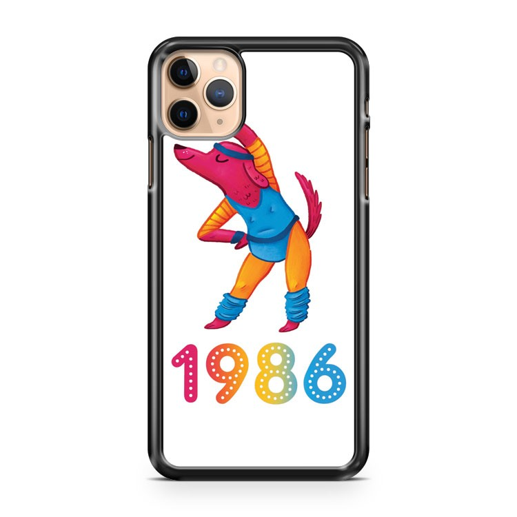 1986 Year iPhone 11 Pro Max Case Cover | CaseSupplyUSA