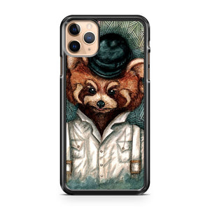 A Clockwork Red Panda iPhone 11 Pro Max Case Cover | CaseSupplyUSA