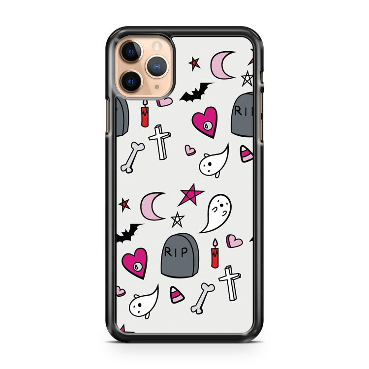 A Creepy Cute Halloween iPhone 11 Pro Max Case Cover | CaseSupplyUSA