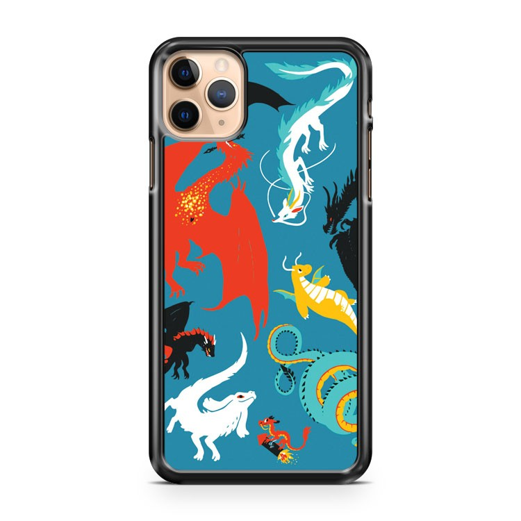 A Flight with Dragons iPhone 11 Pro Max Case Cover | CaseSupplyUSA