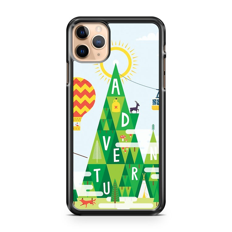 Adventure mountain iPhone 11 Pro Max Case Cover | CaseSupplyUSA