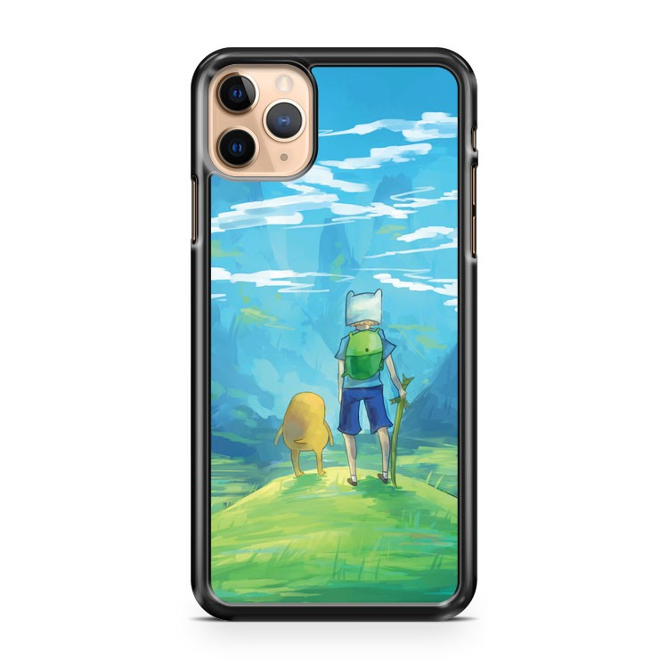 Adventure Time Finn and Jake Painting iPhone 11 Pro Max Case Cover | CaseSupplyUSA