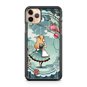 Alice In Wonderland Art iPhone 11 Pro Max Case Cover | CaseSupplyUSA