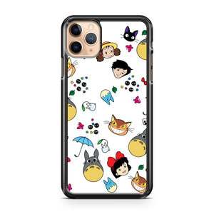 All My Neighbors Totoro Doodle iPhone 11 Pro Max Case Cover | CaseSupplyUSA