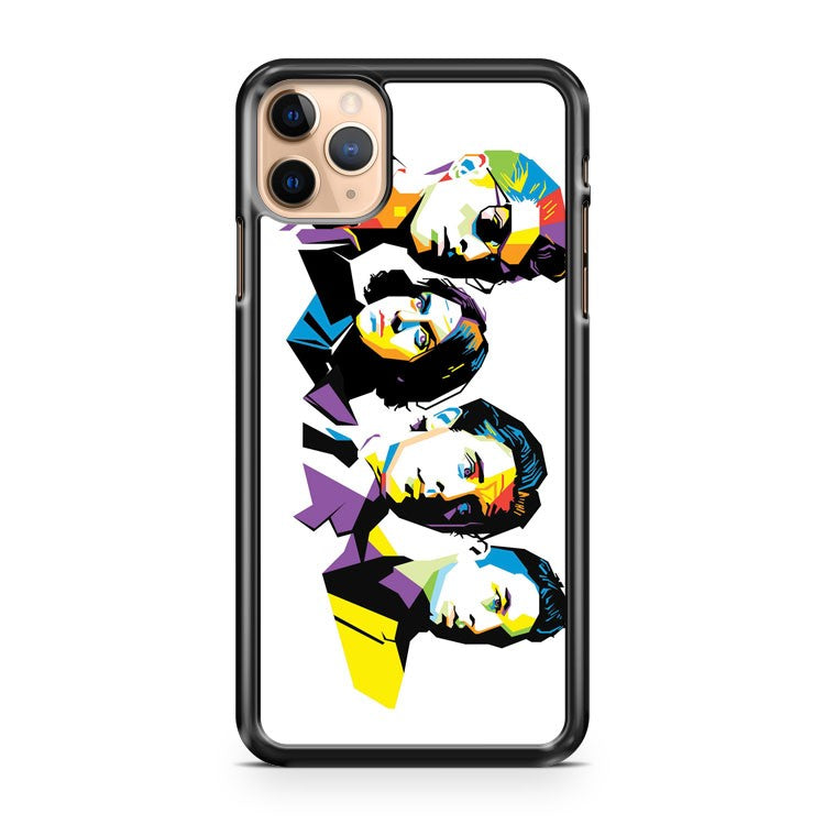 Arctic Monkeys Pop Art iPhone 11 Pro Max Case Cover | CaseSupplyUSA