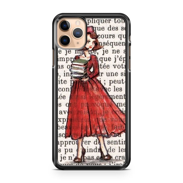 Armfuls Of Books iPhone 11 Pro Max Case Cover | CaseSupplyUSA