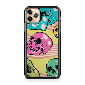 Candy Skulls iPhone 11 Pro Max Case Cover | CaseSupplyUSA