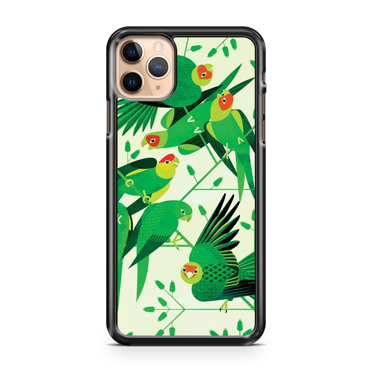 Carolina Parakeet iPhone 11 Pro Max Case Cover | CaseSupplyUSA