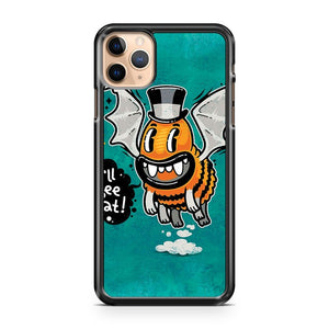 Cartoon Monster I ll Bee Bat iPhone 11 Pro Max Case Cover | CaseSupplyUSA