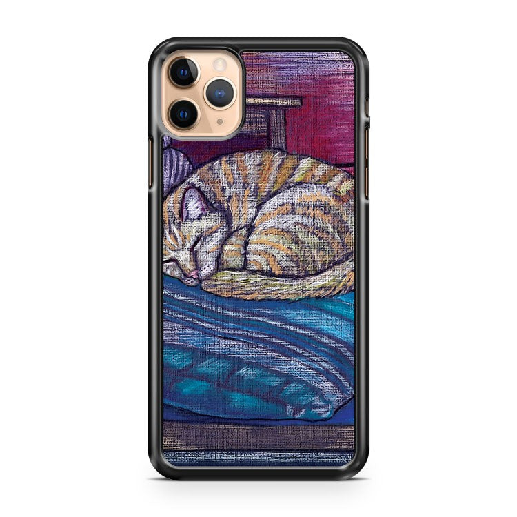 cat on a cushion iPhone 11 Pro Max Case Cover | CaseSupplyUSA