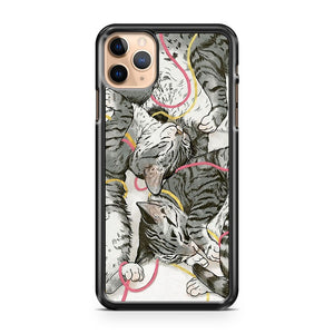 cats rose and gold iPhone 11 Pro Max Case Cover | CaseSupplyUSA