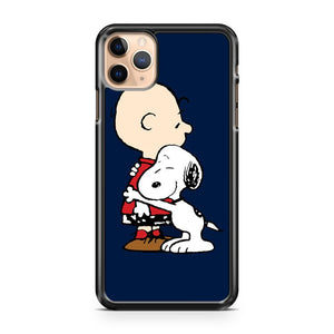 Charlie Brown Hugs Snoopy iPhone 11 Pro Max Case Cover | CaseSupplyUSA