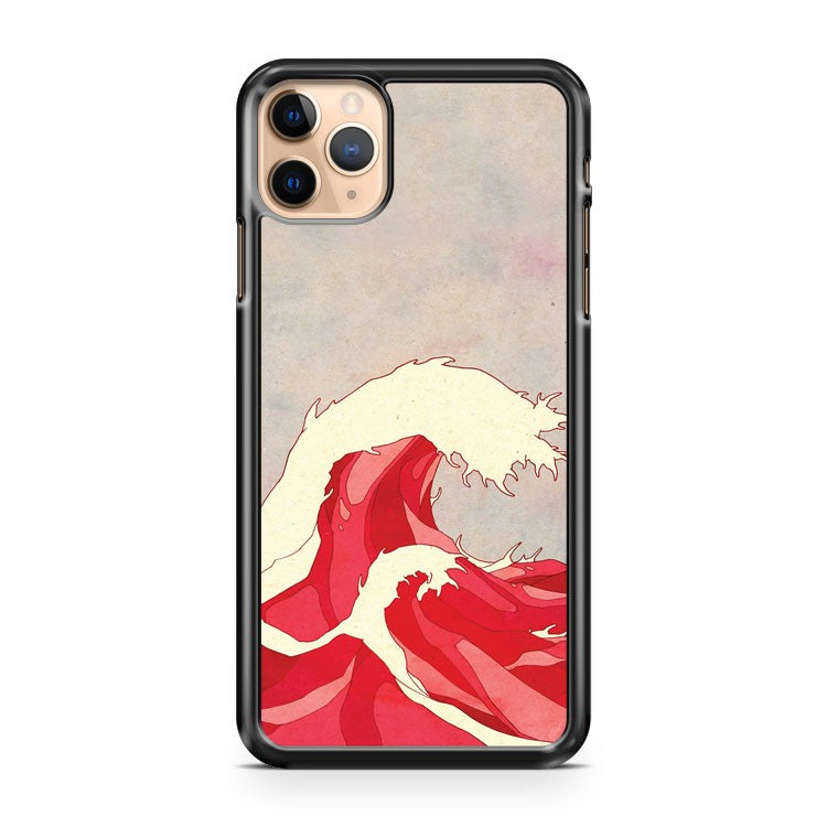 Cherry Waves iPhone 11 Pro Max Case Cover | CaseSupplyUSA