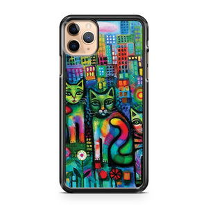 Metropolitan cats iPhone 11 Pro Max Case Cover