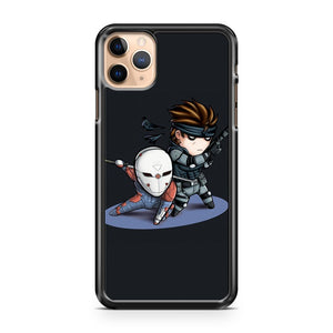 MGS1 Fox and Snake iPhone 11 Pro Max Case Cover