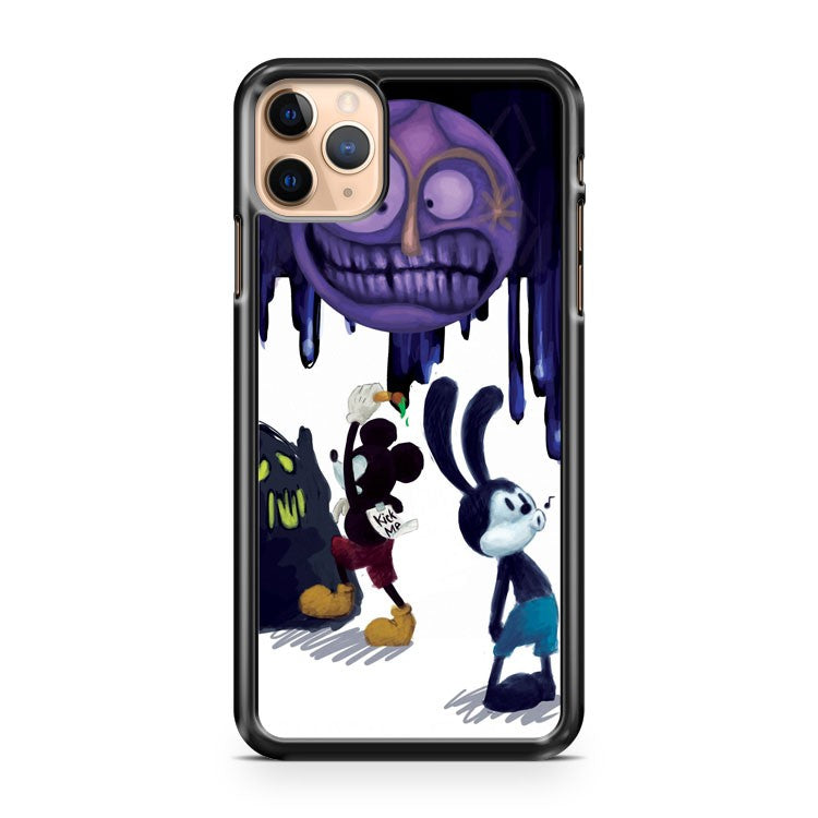 Mickey Draw Ghost iPhone 11 Pro Max Case Cover