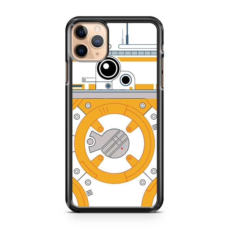 Minimal BB8 Droid iPhone 11 Pro Max Case Cover