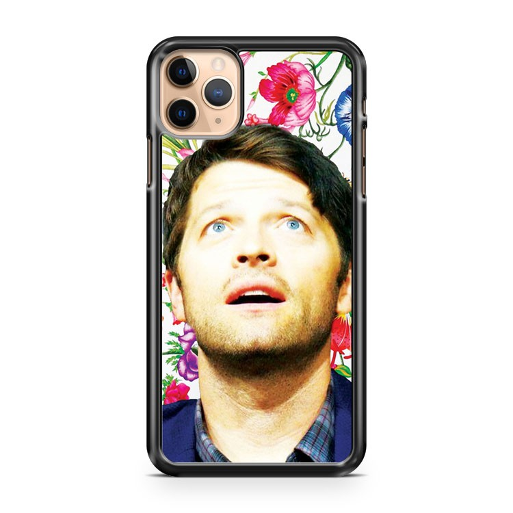 Misha Collins Floral iPhone 11 Pro Max Case Cover