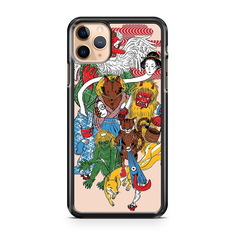 Monster Parade iPhone 11 Pro Max Case Cover
