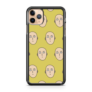 multiple one punch man ok faces iPhone 11 Pro Max Case Cover