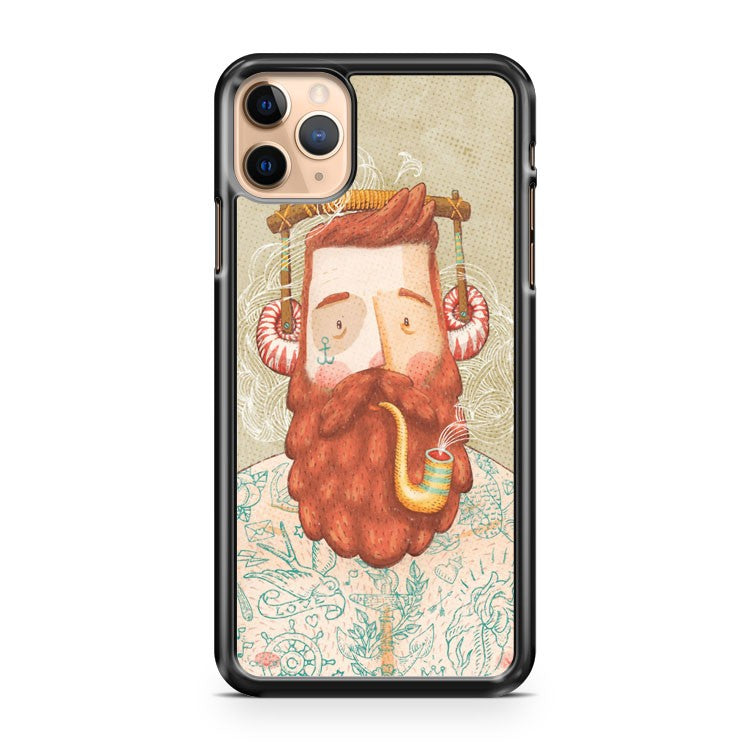 Music Beard iPhone 11 Pro Max Case Cover
