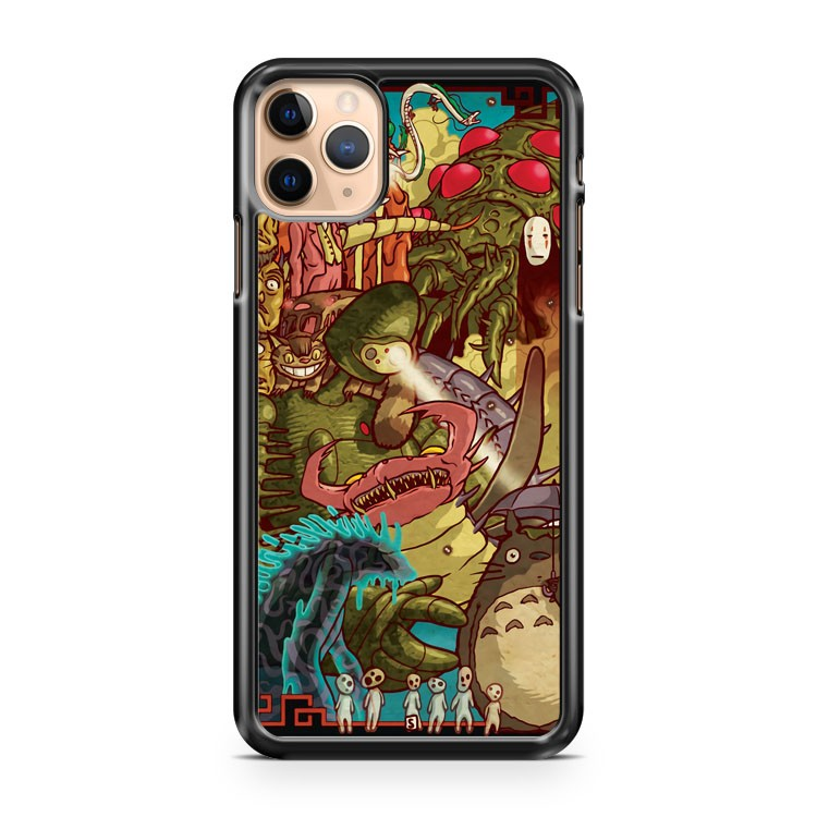 Myazaki s Monsters 2 iPhone 11 Pro Max Case Cover