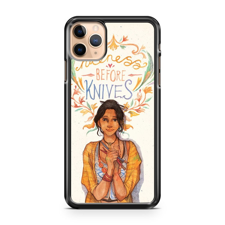 Niceness Before Knives iPhone 11 Pro Max Case Cover