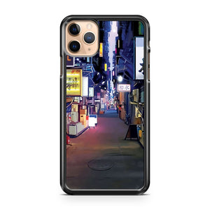 Night in Japan iPhone 11 Pro Max Case Cover
