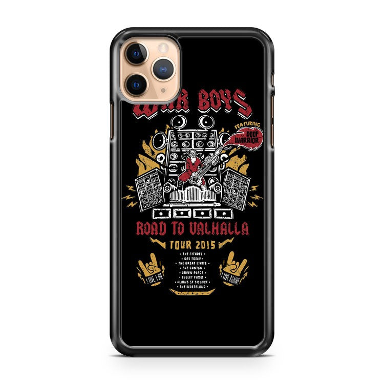 Road To Valhalla Tour War Boys iPhone 11 Pro Max Case Cover