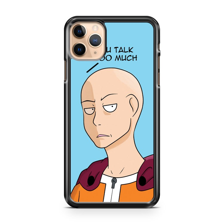 Saitama You Talk Too Much iPhone 11 Pro Max Case Cover