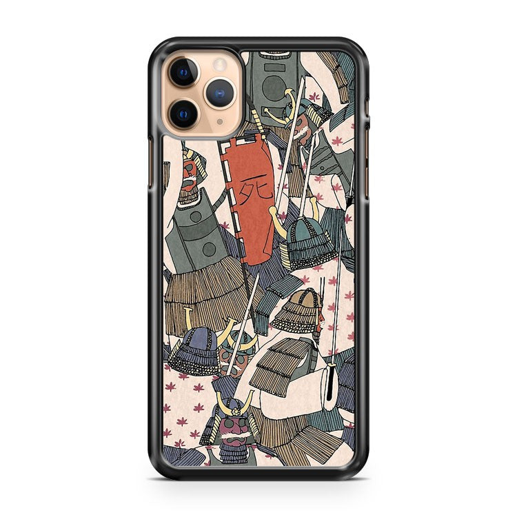 Samurai Ghosts iPhone 11 Pro Max Case Cover