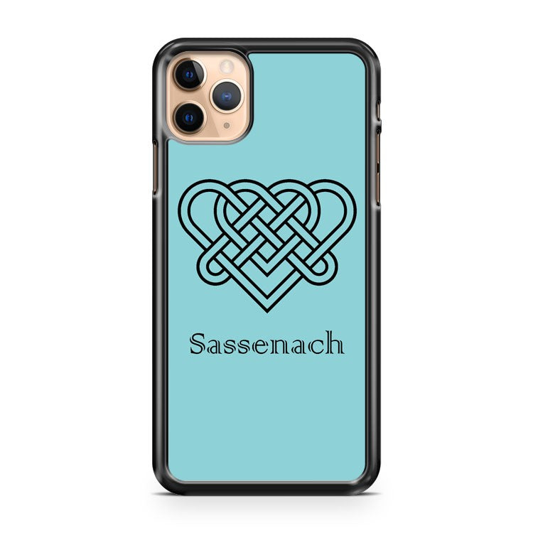 Sassenach Double Celtic Love Knot iPhone 11 Pro Max Case Cover