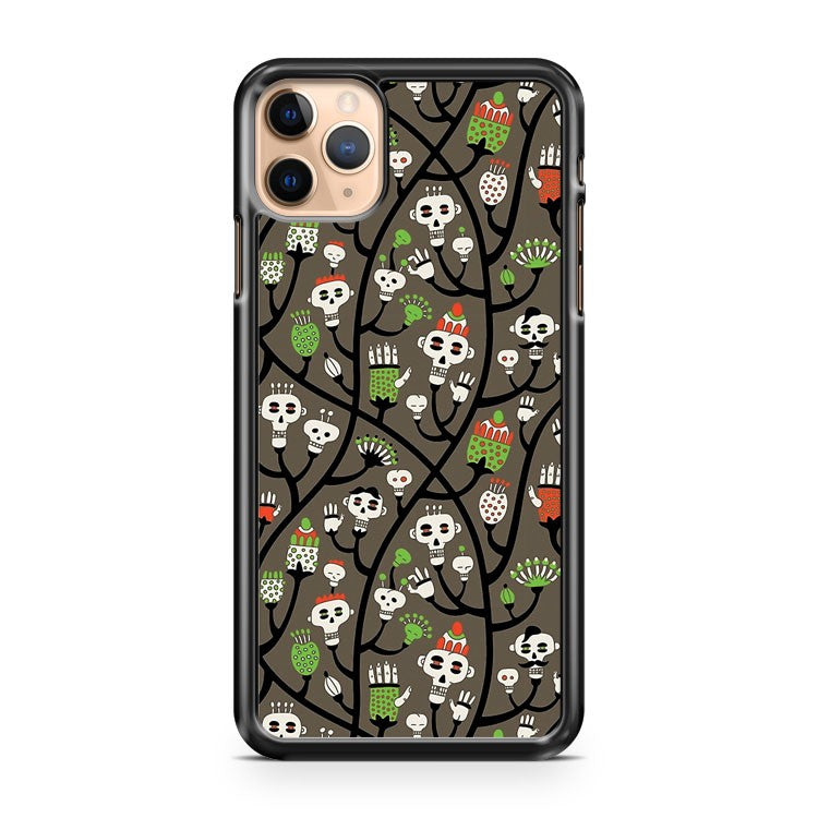 Skull Plant iPhone 11 Pro Max Case Cover