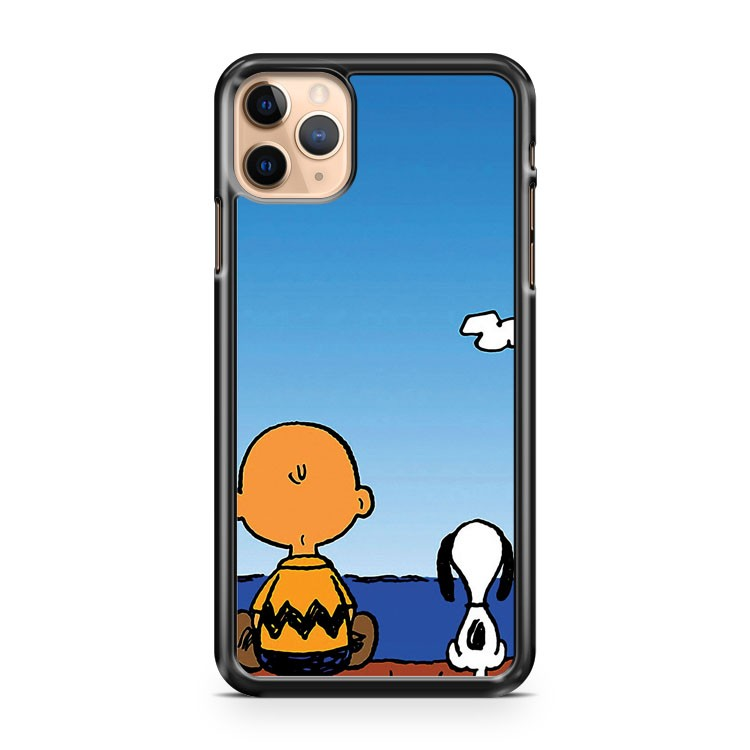 Snoopy Charlie on the beach iPhone 11 Pro Max Case Cover