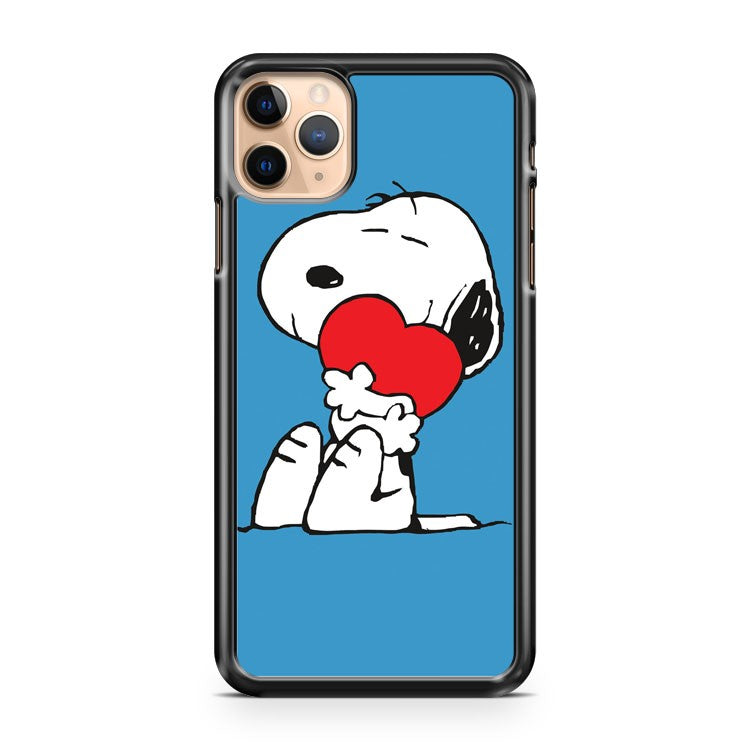 Snoopy In Love iPhone 11 Pro Max Case Cover