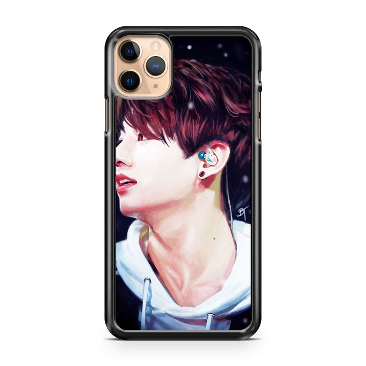 Snowy Jungkook iPhone 11 Pro Max Case Cover