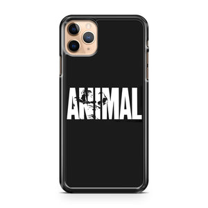 2019 Animal Fitness Gym Muscle Bodybuilding iPhone 11 Pro Max Case Cover | CaseSupplyUSA