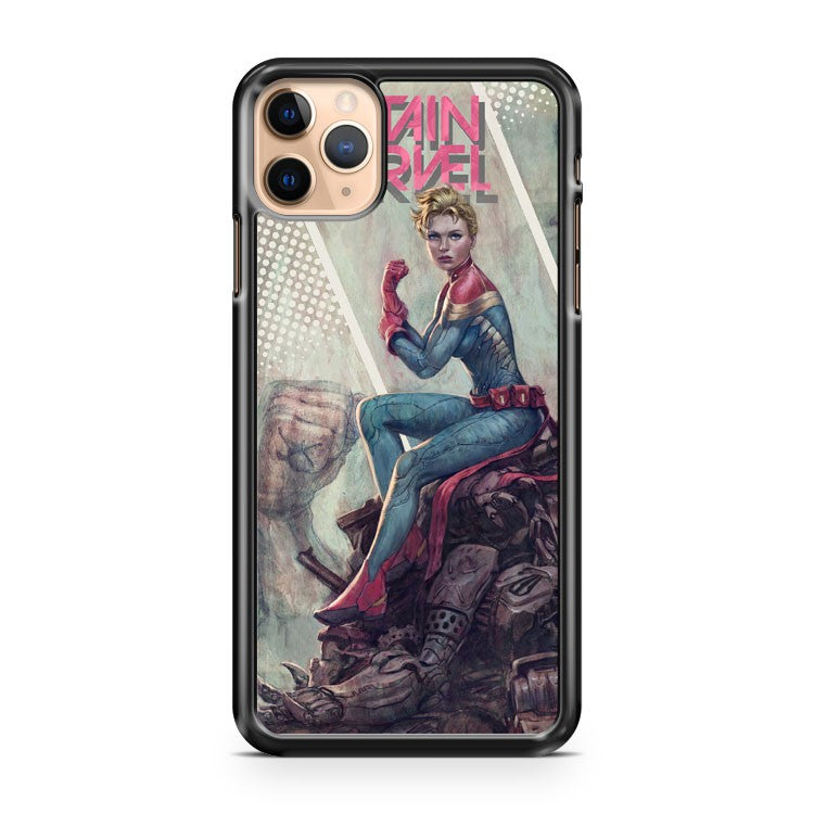 Captain Marvel Marvel Comics iPhone 11 Pro Max Case Cover | CaseSupplyUSA