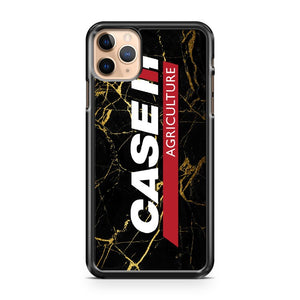 Case IH Black Marble iPhone 11 Pro Max Case Cover | CaseSupplyUSA