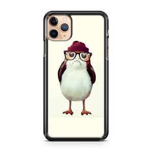 Hipster Porg Star Wars iPhone 11 Pro Max Case Cover