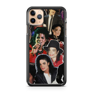 Michael Jackson Collage Face iPhone 11 Pro Max Case Cover